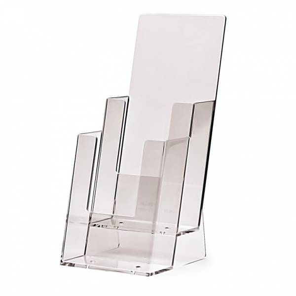2 tier 1/3rd A4 Counter Brochure Holder