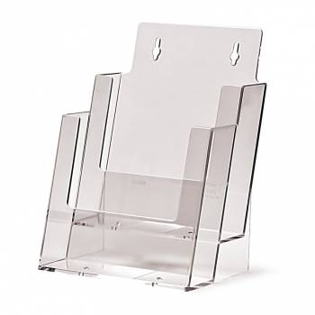 2 tier A5 Counter Brochure Holder