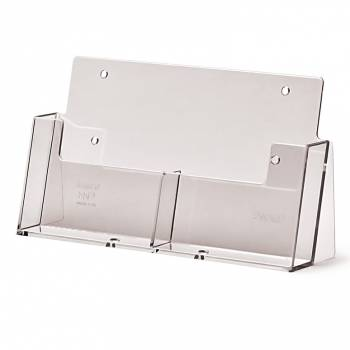 2 wide A6 Counter Brochure Holder