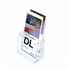 2 Tier 1/3rd A4 DL Scritto Counter Leaflet Holder
