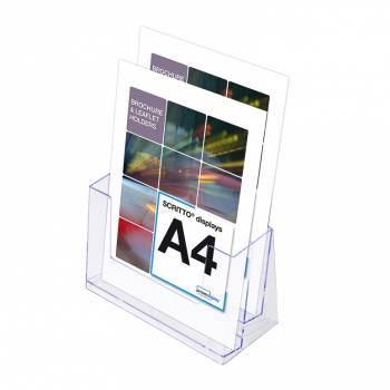 2 Tier A4 Counter Leaflet Holder