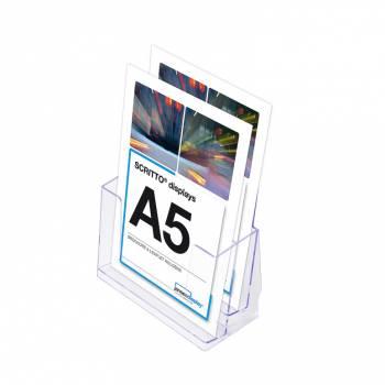 2 Tier A5 Counter Leaflet Holder