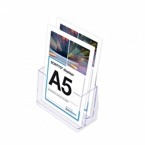 2 Tier A5 Counter Leaflet Holder