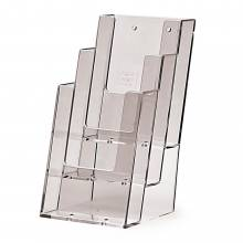 3 Tier 1/3 A4 (DL) Counter/Wall Brochure Holder