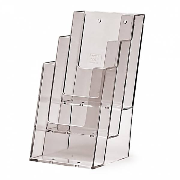 3 tier 1/3rd A4 Counter Brochure Holder