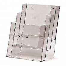 3 Tier A5 Portrait Counter/Wall Leaflet Holder