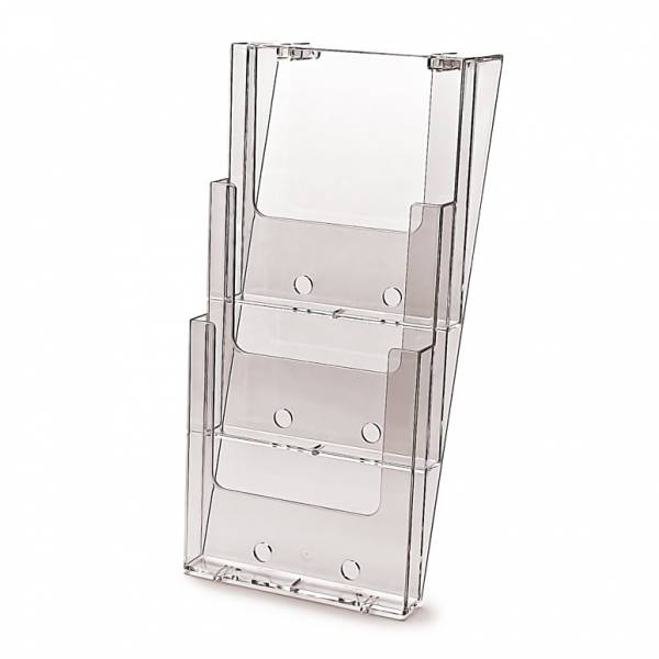 3 tier A4 Wall Brochure Holder
