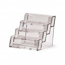 4 tier 4 pocket Landscape Business Card Holder