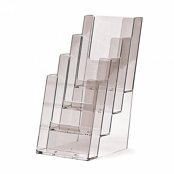 4 tier 1/3rd A4 Counter Brochure Holder