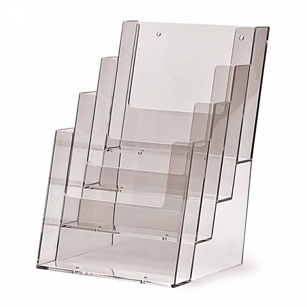 4 tier A5 Counter Brochure Holder