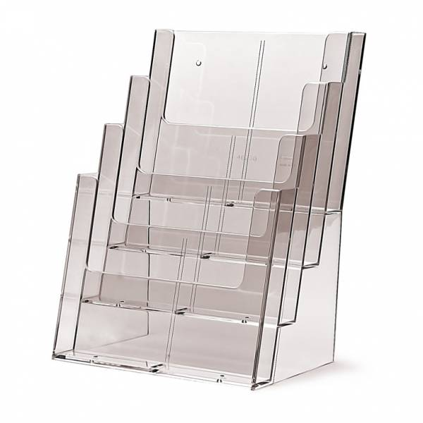 4 tier A4 Counter Brochure Holder