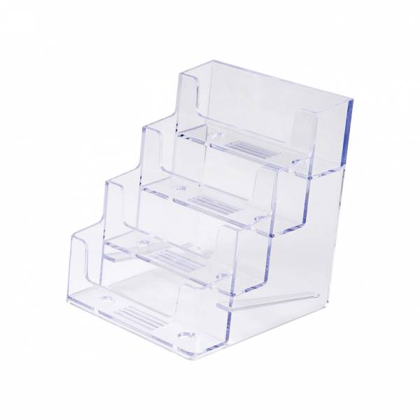 4 Tier Business Card Holder - Landscape