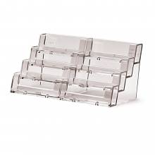 4 tier x 2 Landscape Counter Business card holder