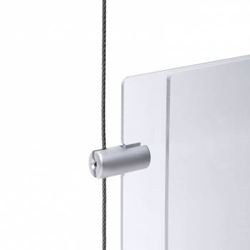 Side handle of 4mm panel on cable