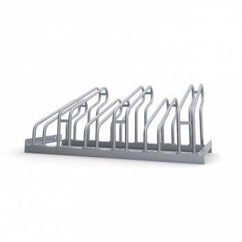 Bike Stand - Bike Rack - Galvanised Steel Finish For up to 6 bikes
