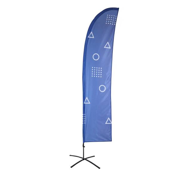 Beach Flag Budget Large Wind Graphic