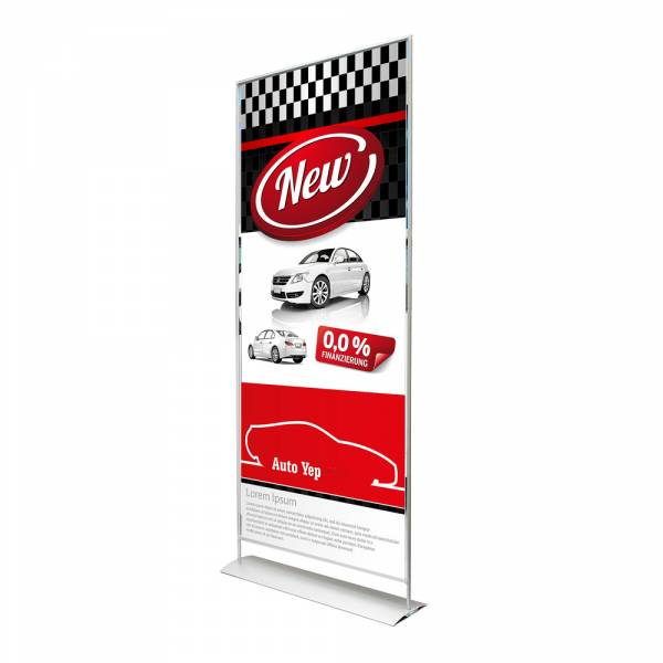 Magnetic banner 85x200 cm