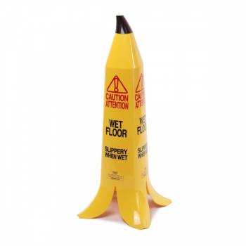 Banana Cone Wet Floor Sign 90cm