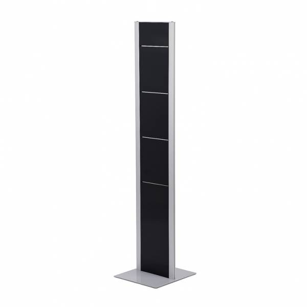 Freestanding Brochure Rack Totem, pole only