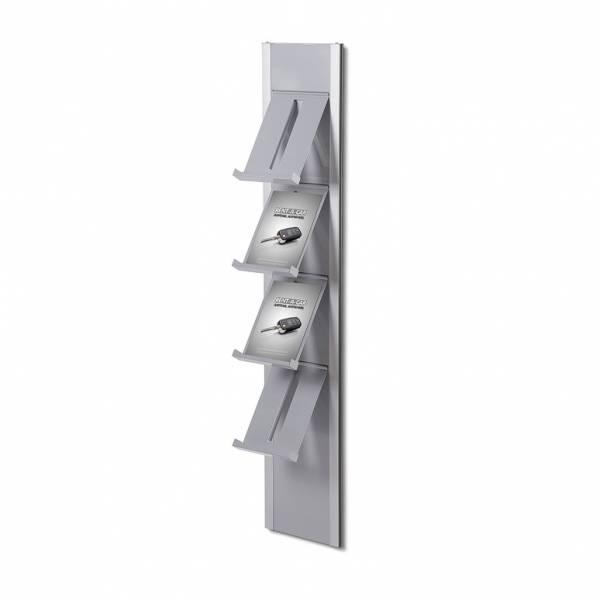 Wall shelf with 4 shelves