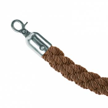 Chrome/Bronze Twisted Rope