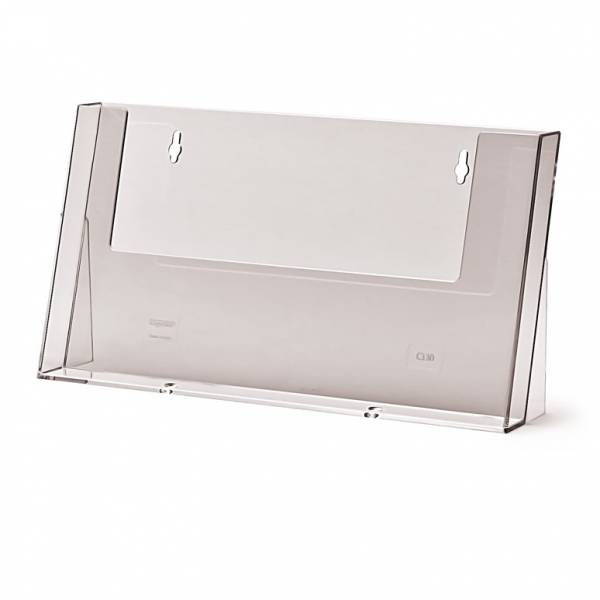 A4 Landscape Counter/Wall Brochure Holder