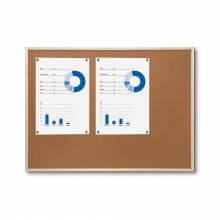 Cork Notice Board with wooden frame