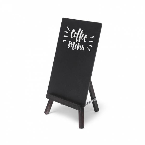 Black JD Natura Table Top Easel Chalkboard