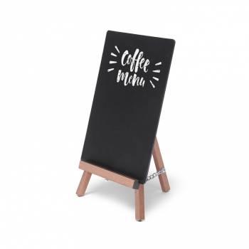 Light Brown JD Natura Table Top Easel Chalkboard