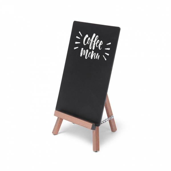 Light Brown JD Natura Table Top Easel Chalkboard