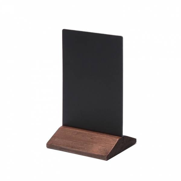 Dark Brown JD Natura Economy Table Top Chalkboard 100x140mm