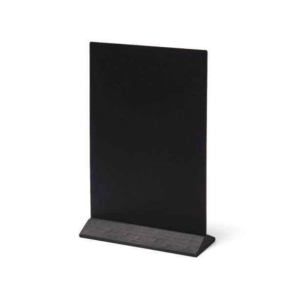 Black JD Natura Economy Table Top Chalkboard 210x290mm