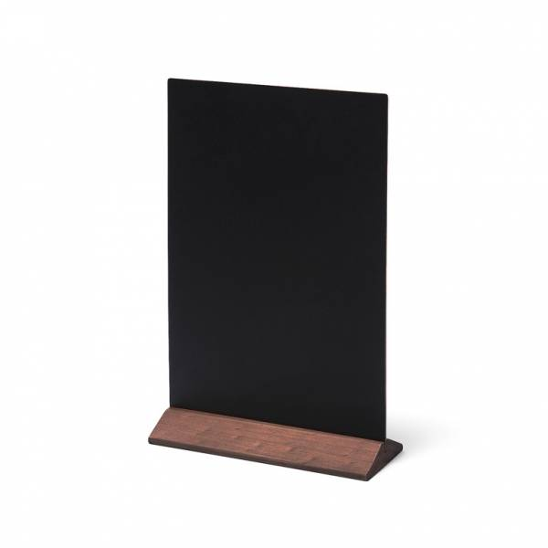 Dark Brown JD Natura Economy Table Top Chalkboard 210x290mm