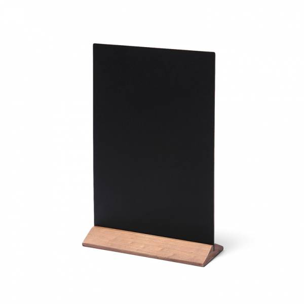 Light Brown JD Natura Economy Table Top Chalkboard 210x290mm