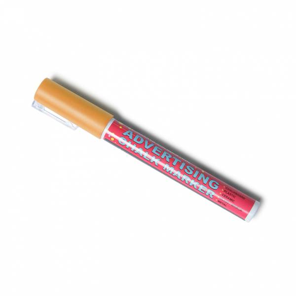 3mm Orange Chalk Pen