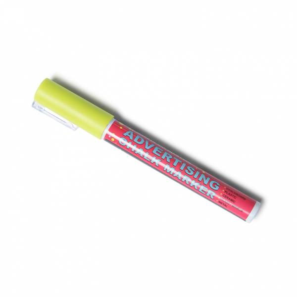 3mm Yellow Chalk Pen