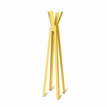 Freestanding Coat Hanger Design YELLOW