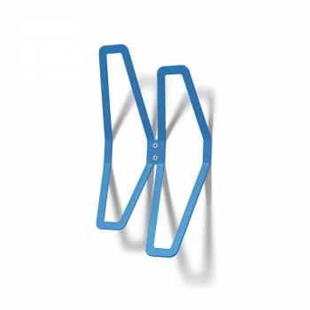 Wall Mounted Coat Hanger Design BLUE