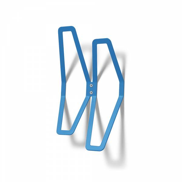 Wall Mounted Coat Hanger Design BLUE