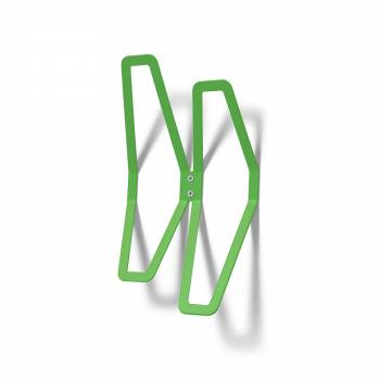 Wall Mounted Coat Hanger Design GREEN