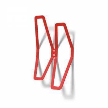 Wall Mounted Coat Hanger Design RED