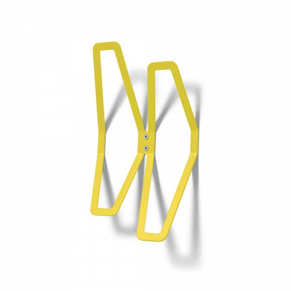 Wall Mounted Coat Hanger Design YELLOW