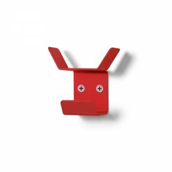 Wall Mounted Coat Hanger Mini RED