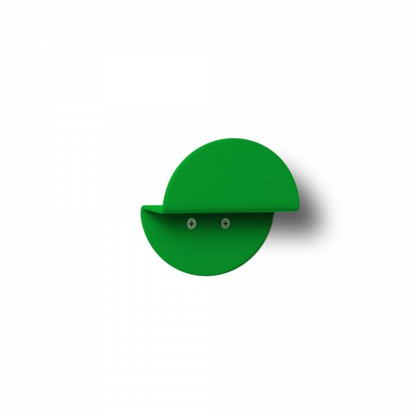 Wall Mounted Coat Hanger Round GREEN