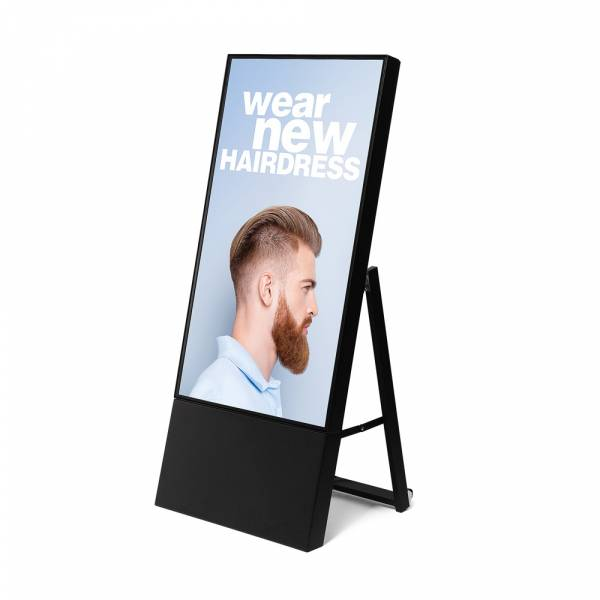 "Smart Line A-Board - 43"" Samsung Screen - Black"