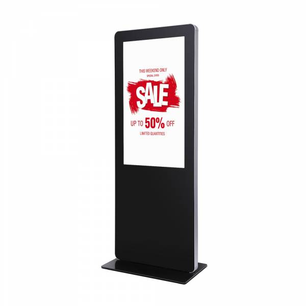 "55"" Digital Totem with round corners"