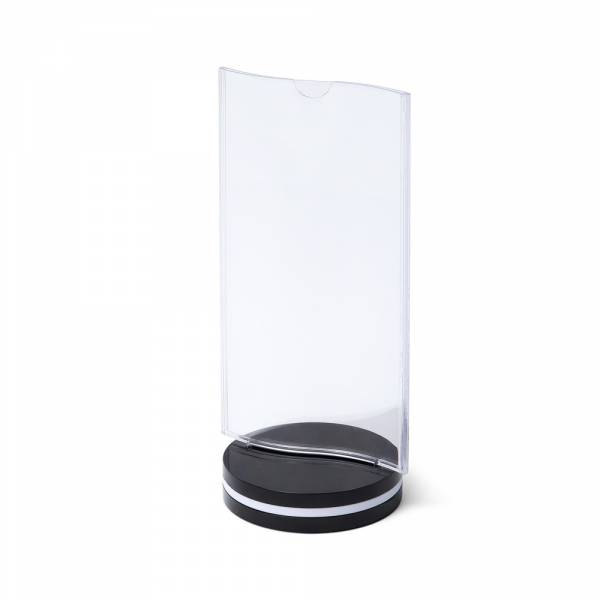 SCRITTO® Plastic Menu stand 10x20mm with fold