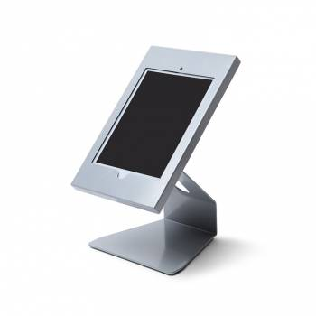 Slimcase Angled Counter Top Tablet Enclosure Silver