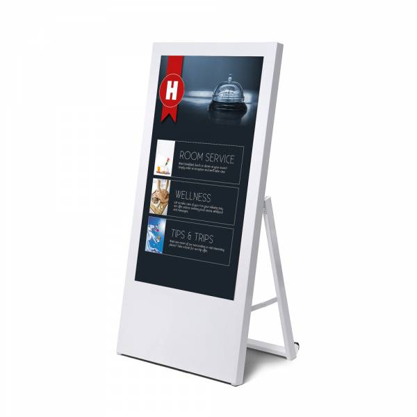 "Digital A Board Economy for monitors 43"" in white"