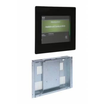 Wall mounted box with 10